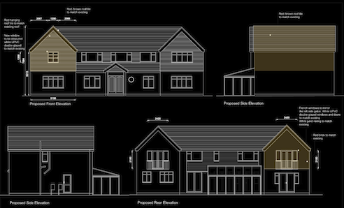 AA-PROPOSED ELEVATIONS