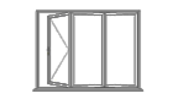 3 leaf bi-fold doors