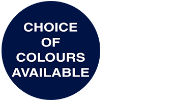 choice of colours available